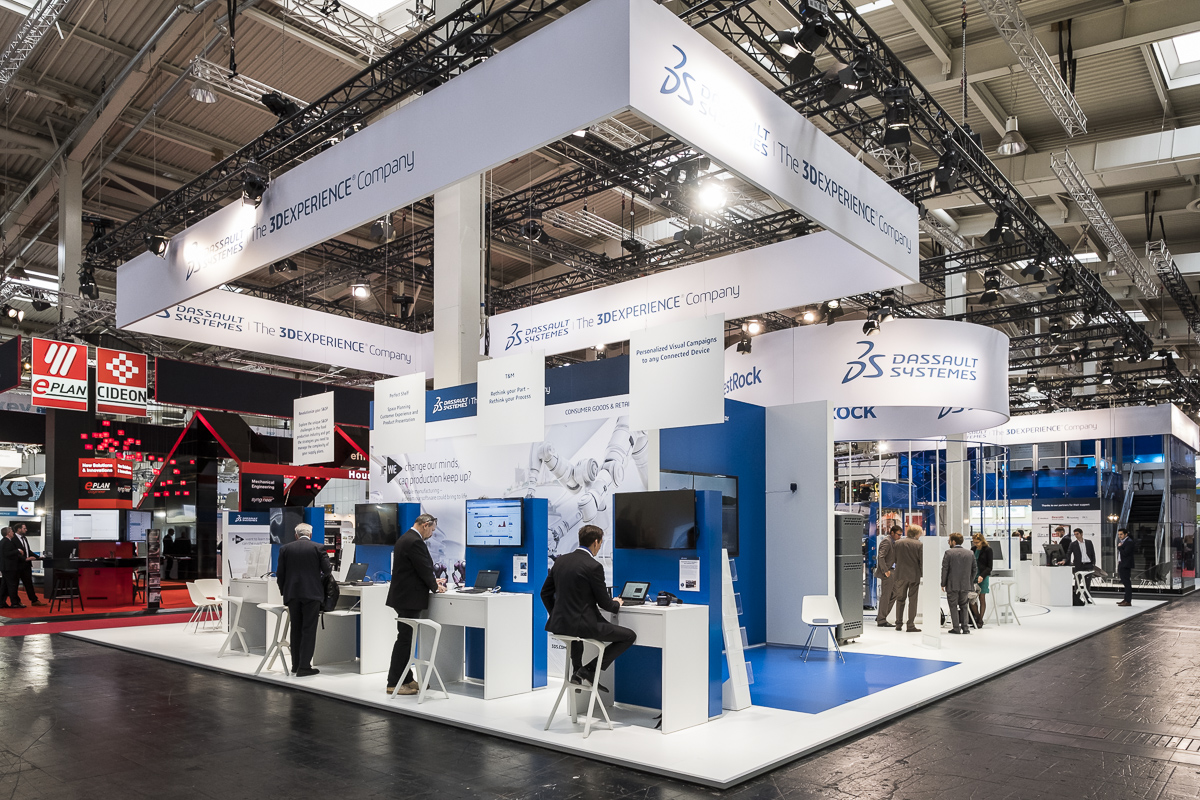 Dassault Systèmes at the Hannover Fair 2017
