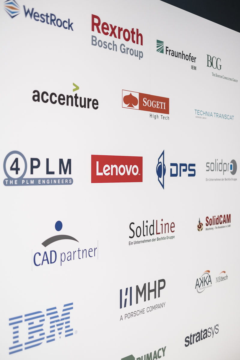 Sponsors of Dassault Systèmes at the Hannover Fair 2017