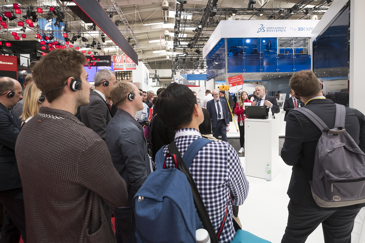 Guided Tours auf der Hannover Messe 2017