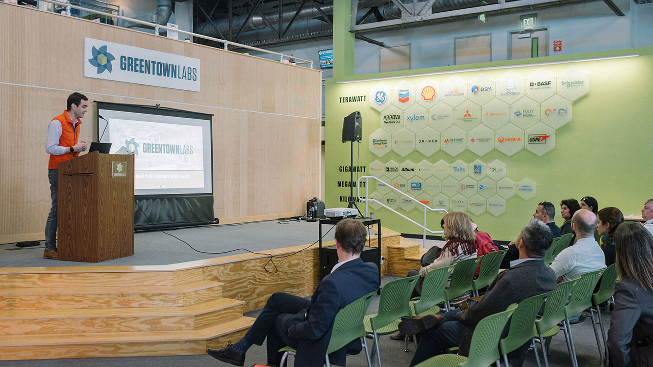 Science in the Age of Experience 2019 - Greentown Labs presenting > Image > Dassault Systèmes®