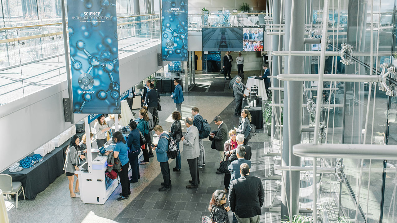 Science in the Age of Experience 2019 - Event registration hall > Image > Dassault Systèmes®