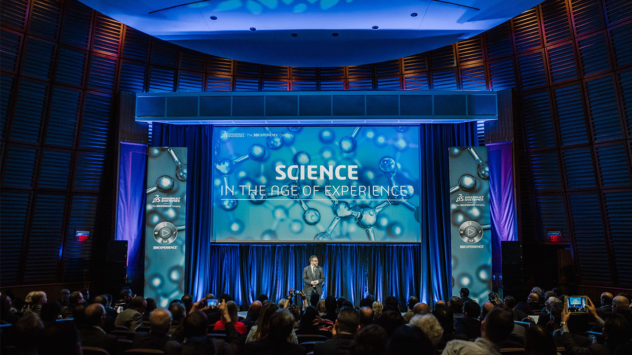 Science in the Age of Experience 2019 - Opening > Image > Dassault Systèmes®