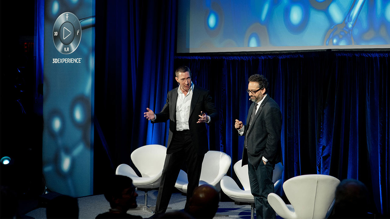 Science in the Age of Experience 2019 - Speakers on stage > Image > Dassault Systèmes®
