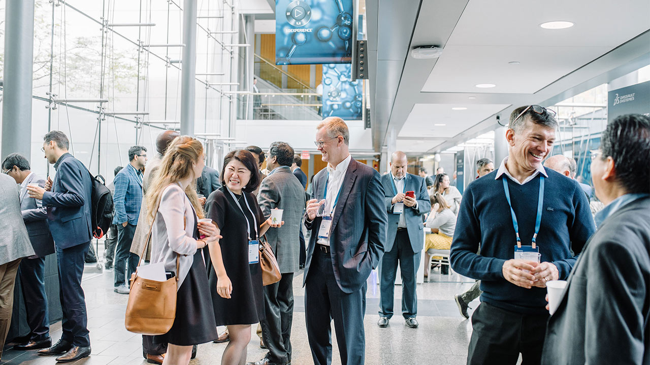 Science in the Age of Experience 2019 - Guests networking > Image > Dassault Systèmes®
