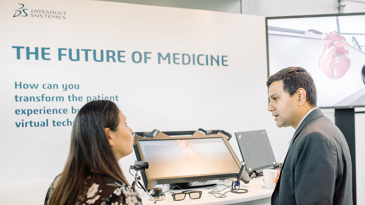 Science in the Age of Experience 2019 - Guests discussing > Image > Dassault Systèmes®