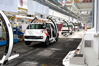 Digitization of production > Car manufacturing > Dassault Systèmes®