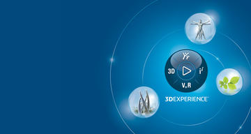 3DEXPERIENCE A Virtual Journey Agenda > Hero Banner > Dassault Systèmes