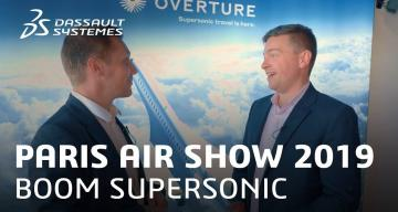 Paris Air Show 2019 >The world is getting faster thanks to Boom Supersonic > Dassault Systèmes®