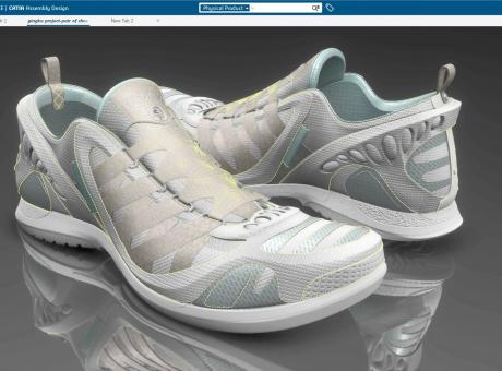 The Gingko footwear design project, from concept to prototype